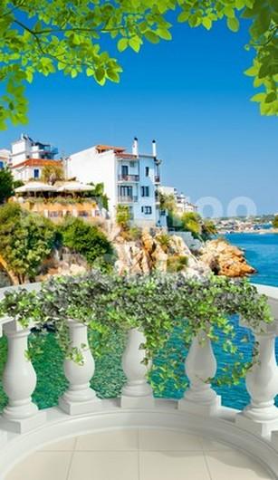 Балкон с видом на море