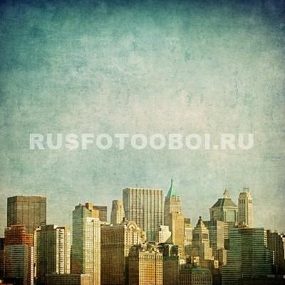 Старое фото Нью-Йорка