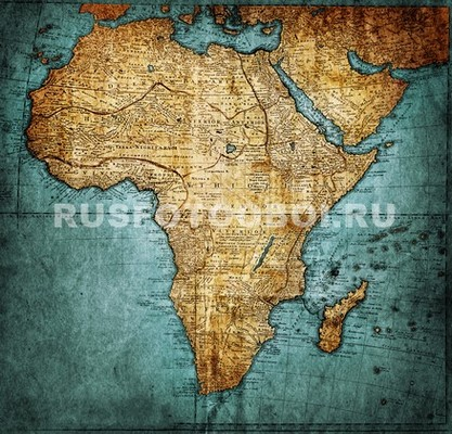 Карта Африка