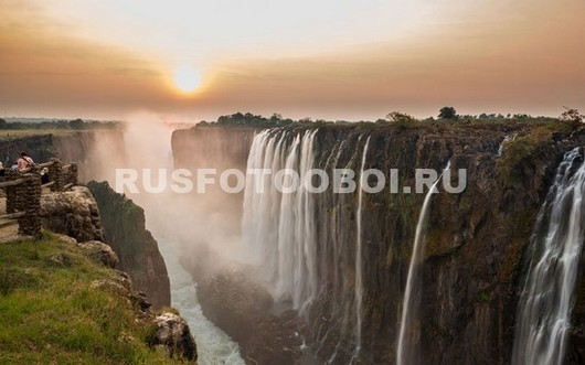 Водопад в Восточной Африке