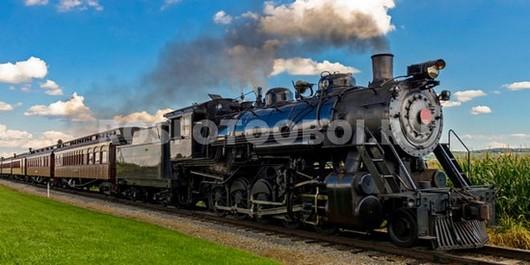 Старенький поезд