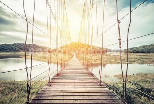 Фотообои Подвесной мост