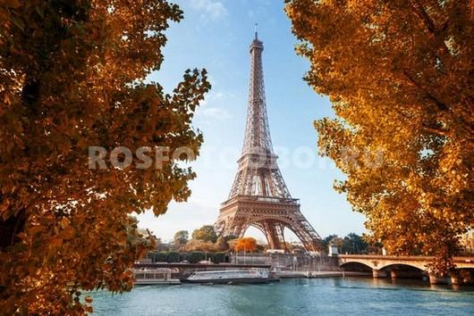 Фотообои Осенний Париж