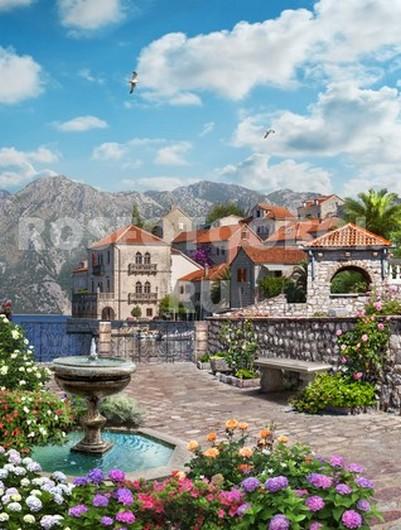 Красивый вид на побережье Италии