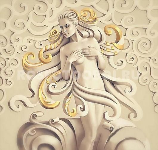 Девушка с золотыми волосами