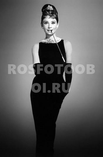 Одри Хепберн портрет