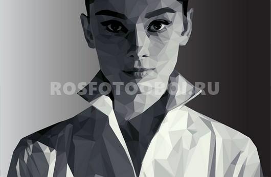 Одри Хепберн вектор