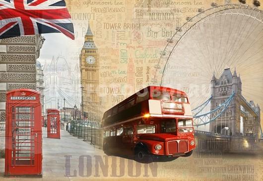 Коллаж Лондон