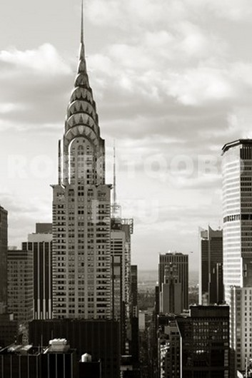 Старые небоскребы