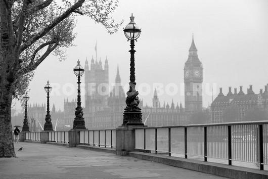 Фотообои Набережная в Лондоне