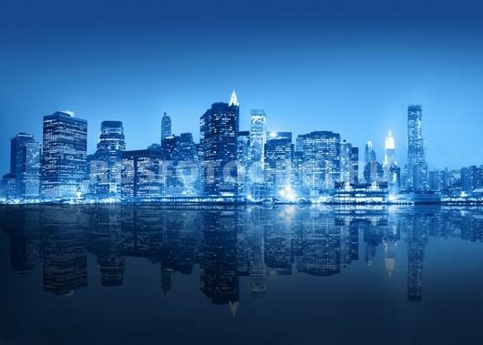 Мегаполис ночью