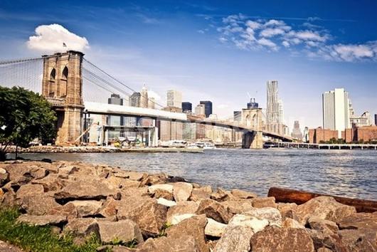 Бруклинский мост днем