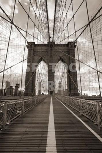 Дорога на Бруклинском мосту