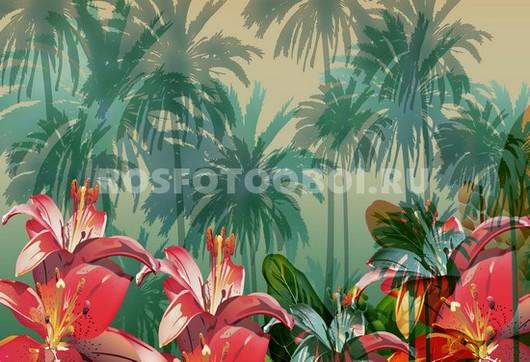 Пальмы рисунок