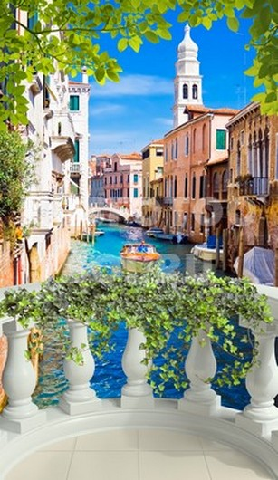 Фотообои Терраса в Венеции