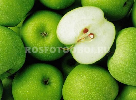 Фотообои Зеленые яблоки