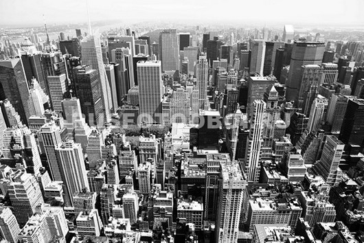 Фотообои Нью-Йорк вид на небоскребы
