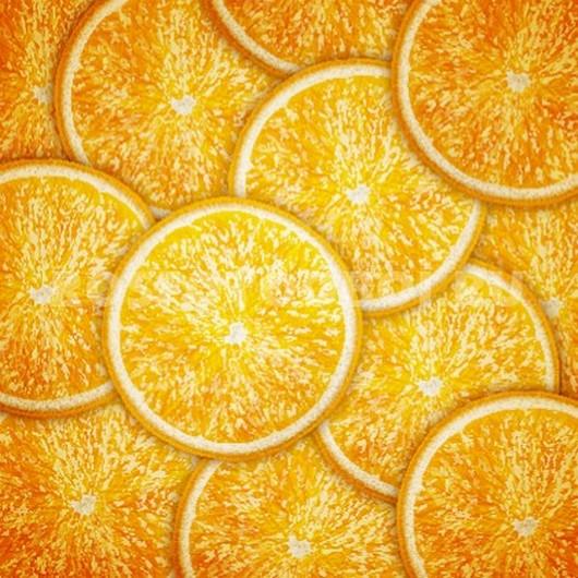 Фотообои Долки апельсина
