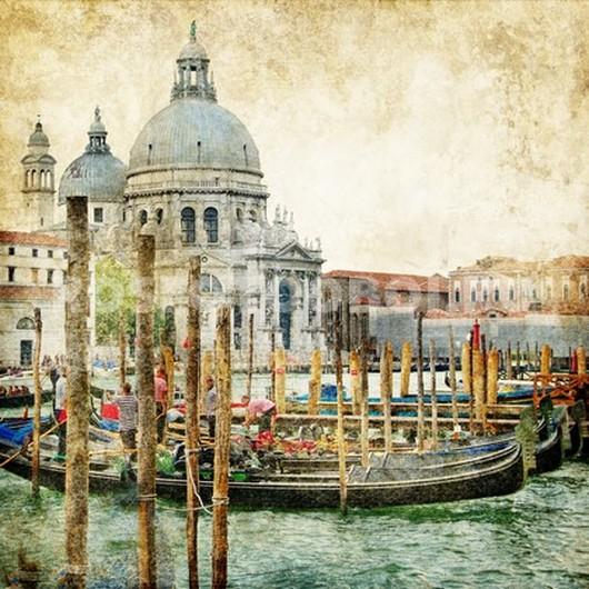Лодки в Венеции