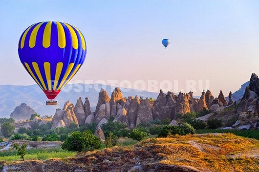 Воздушные шары в небе