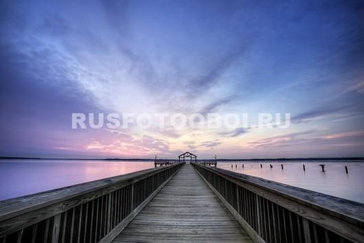 Фотообои Пирс на закате