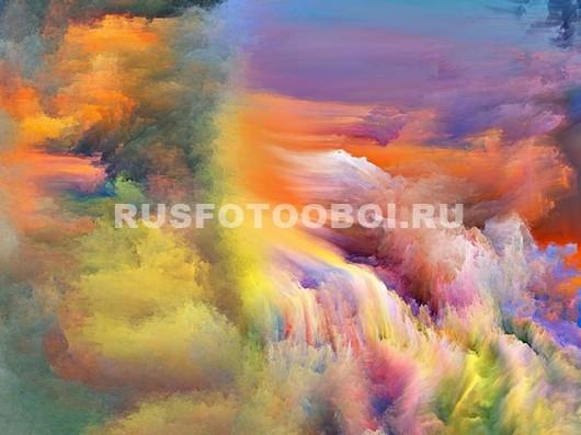 Фотообои Краска в воде