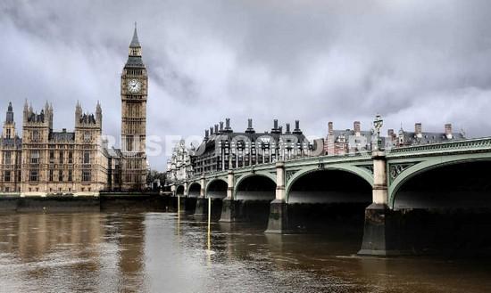 Фотообои Пасмурный Лондон