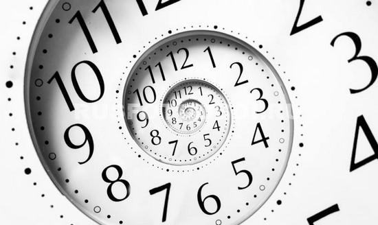 Фотообои Бесконечность времени