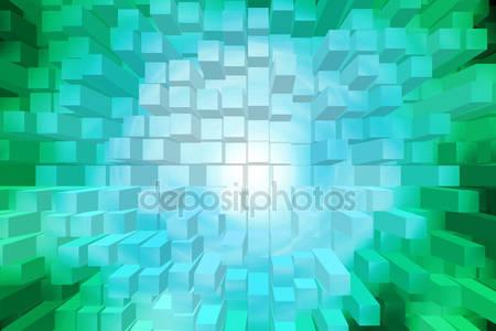 Абстрактный фон квадрата