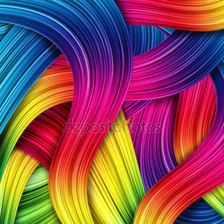 Цветной абстрактный фон