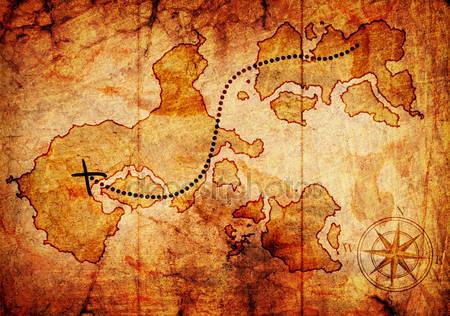 Старая карта сокровищ