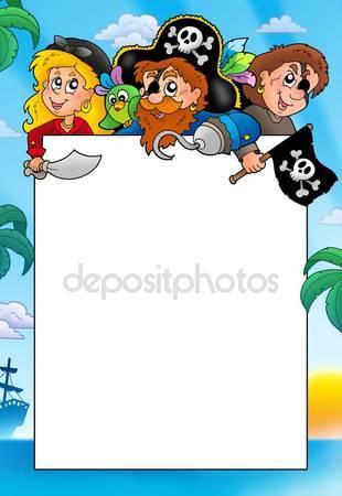 Пираты за доской