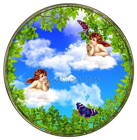 Фреска ангелов