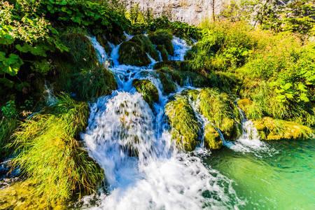 Водопады в национальном парке