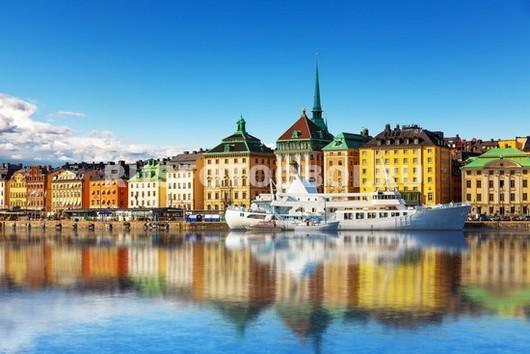 Фотообои Стокгольм летом