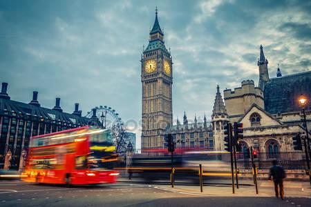 Лондон рано утром