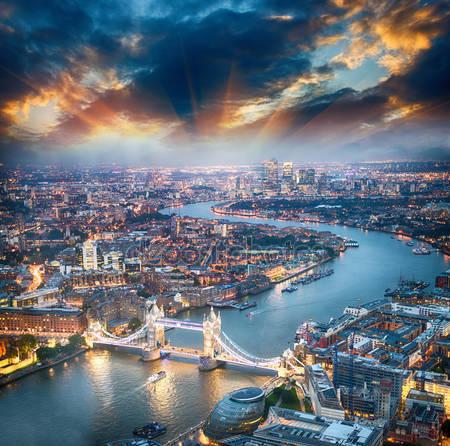Аэрофотоснимок лондона