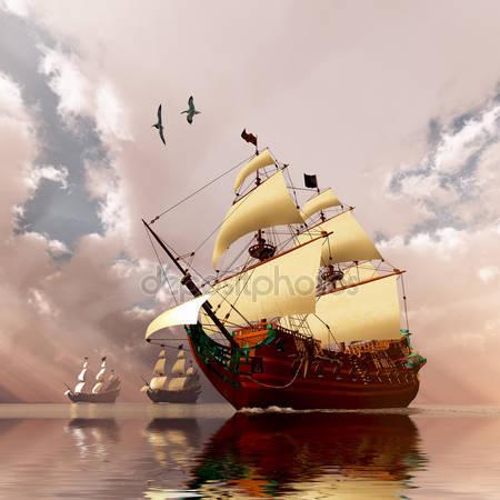 Древние корабли