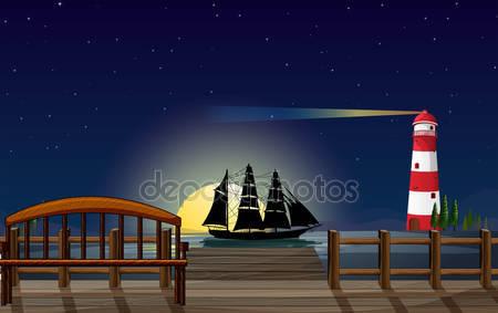Красивые пейзажи в порту