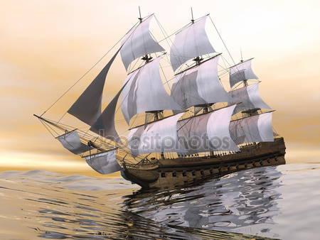 Старый купеческий корабль
