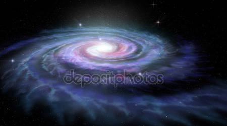 Спиральная галактика млечный путь