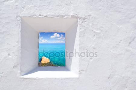 Ибица в окне