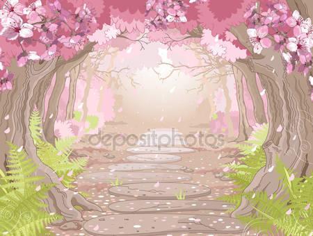 Магия и весенний лес