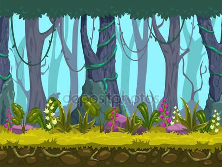 Весна лесной пейзаж