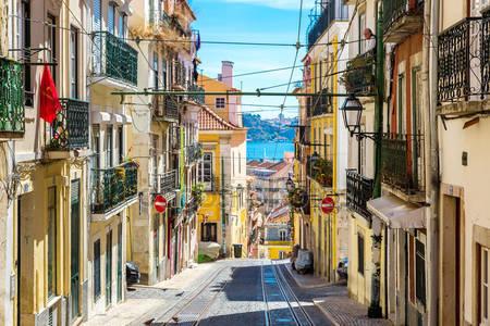 Старый лиссабон улица