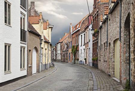 Улицы города брюгге