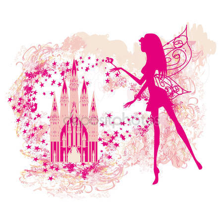 Волшебная сказка принцесса замок