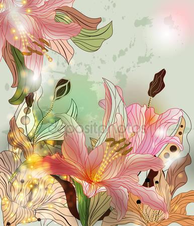 Сияющие цветы