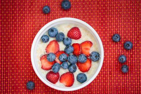 Завтрак из ягод