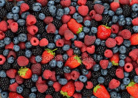 Различные ягоды